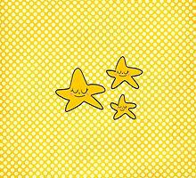 Yellow stars by enelbosqueencan