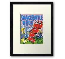 snake rattle n roll Framed Print