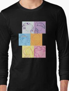 6 Main_squares 2 Long Sleeve T-Shirt