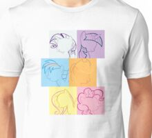 6 Main_squares 2 Unisex T-Shirt