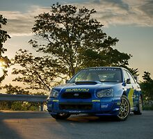 WRC Sunrise by Rob Smith