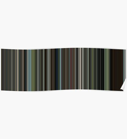 Moviebarcode: The Beach (2000) [Simplified Colors] Poster