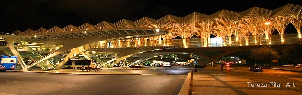 Bus station. Gare do Oriente. Lisbon by terezadelpilar ~ art & architecture