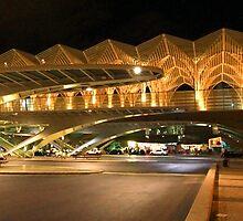 Bus station. Gare do Oriente. Lisbon by terezadelpilar~ art & architecture