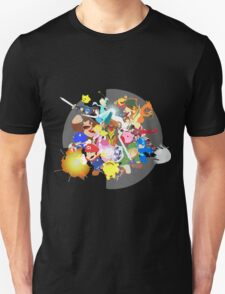 Smash 4 Vector Art T-Shirt