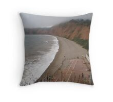 A storm is brewing  Throw Pillow