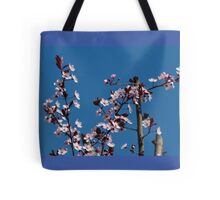 peach flowers Tote Bag