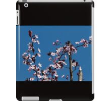 peach flowers iPad Case/Skin