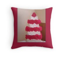 rosey thank you Throw Pillow