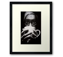 Caffeine--Future Self Portrait  Framed Print