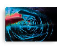 spiral energy Canvas Print