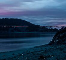 An evening at Deception Pass by JonAnderson