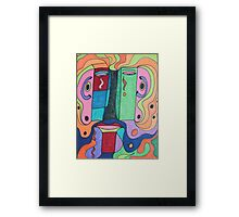 I'm Unhappy Framed Print