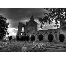 Gothic Croyland Abbey Photographic Print