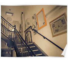 Selective Staircase Poster