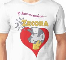 I have a crush on... Zecora - with text Unisex T-Shirt
