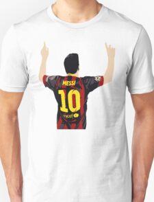 Messi after GOAL!! T-Shirt