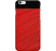 Red nature iPhone Case/Skin
