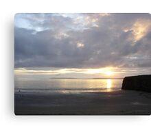 Sunset in Ballybunion, Kerry, Ireland Canvas Print