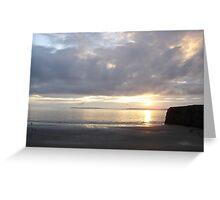 Sunset in Ballybunion, Kerry, Ireland Greeting Card