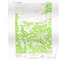 USGS Topo Map Oregon Williams Prairie 282103 1965 24000 Poster