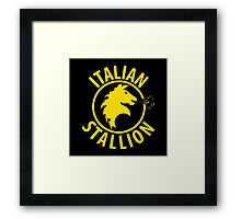 Italian Stallion Framed Print