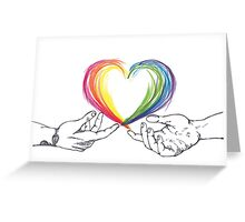 Love is equal (Harry and Louis) Greeting Card