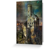 Lichtenstein Castle . Greeting Card
