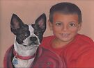A Boy and a Boston by Pam Humbargar