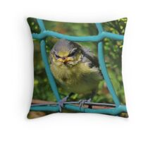 I'm Not Happy ! Throw Pillow