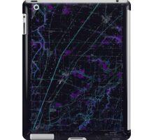 USGS Topo Map Oregon Gervais 280014 1957 24000 Inverted iPad Case/Skin