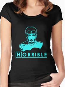 Dr. House's Horrible Sing-Along Glow Women's Fitted Scoop T-Shirt