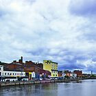 River Lee in Cork, Ireland by Yukondick