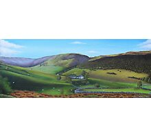 'Distant Hills'  Snowdonia Photographic Print