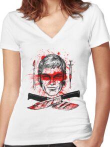 Jolly Dexter Women's Fitted V-Neck T-Shirt