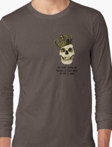 The Skull Lives On Long Sleeve T-Shirt