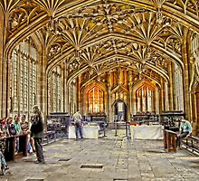 Oxford Bodleian Library by Kate Adams