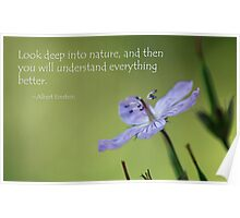 Deep into Nature Poster