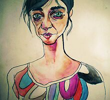 sad  by Mileva