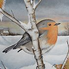 'Winter Wonder 3' by Dawn Jones Art
