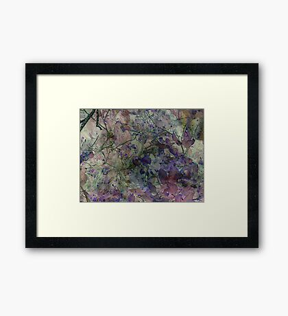 In the Garden Where the Faeries Go Framed Print