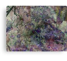 In the Garden Where the Faeries Go Canvas Print