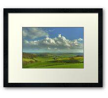 The South Hams Framed Print