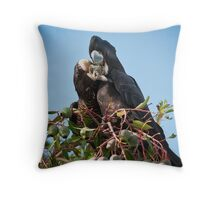 """""""All About Sharing"""" Throw Pillow"""