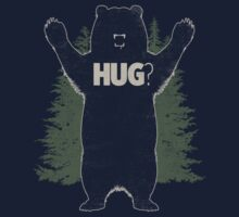 Bear Hug (Dark) T-Shirt  Kids Clothes