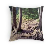Trees - Reaching Out Throw Pillow