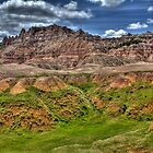 Badlands Bliss by Jim  Egner