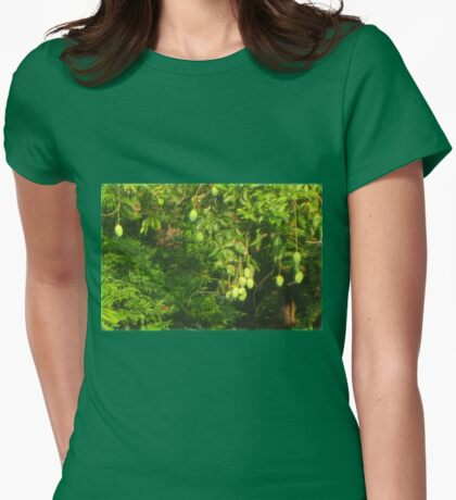 Mangos Growing Womens Fitted T-Shirt