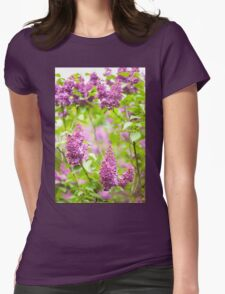 Purple Syringa vulgaris T-Shirt
