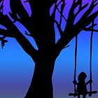 Tree With Swing by SarahBelham